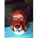 Masque chien marron Chien de chasse