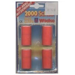 Amorces 2000 coups 4 rouleaux