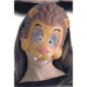 Demi-masque de lion enfant masque souple