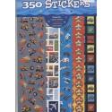 10 feuilles de 35 stickers voitures camions avions Autocollants