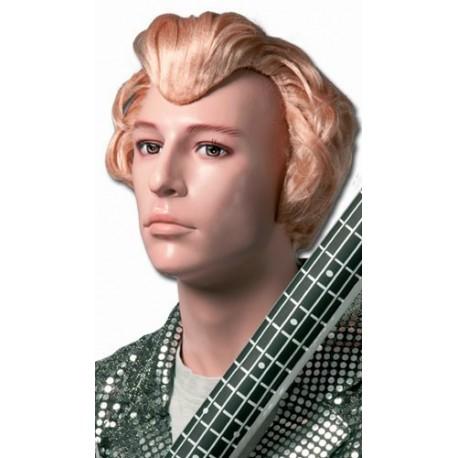 perruque-blond-dore-coiffee-a-la-johnny