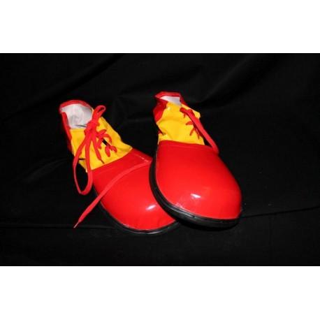 chaussures-de-clown-rouge-et-jaune