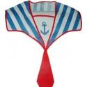 Col de marin bleu blanc rouge tricolore