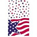 Nappe des USA 137 x 213 cm plastique