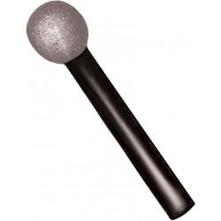 microphone-factice-noir-et-paillettes-argent