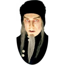 Barbe astrologue mage grise postiche de cinéma