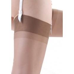 Bas nylon couleur vison pour porte-jarretelle CLIO Taille 1