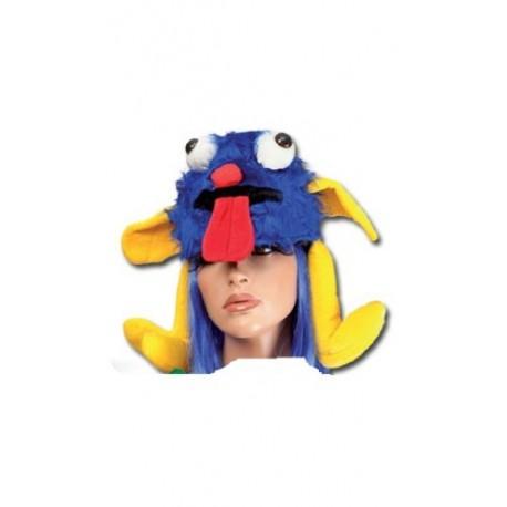 chapeau-de-monstre-bleu-et-jaune-en-peluche-et-velours