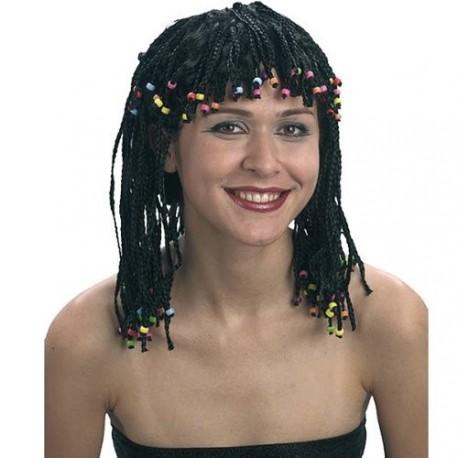 perruque-rasta-tresses-fines-et-perles-de-couleur