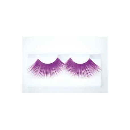 faux-cils-violets-longs