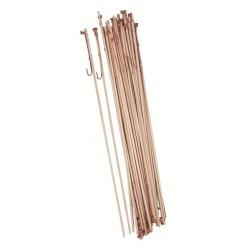 Porte-lampions en bois par 12 longueur de la tige 50 cm