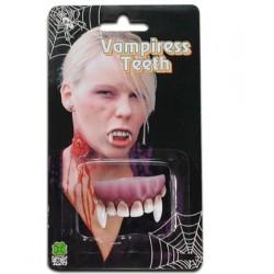 dentier-de-vampire-partie-haute-canines-courtes-gencives-foncees