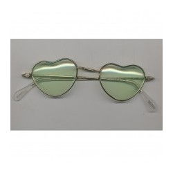 lunettes-annees-60-70-monture-doree-verres-coeur-vert