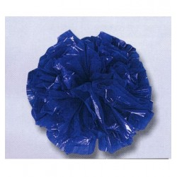 25 pompons bleu roi