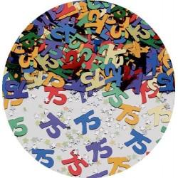 Confettis de table 75 multicolores Sachet de 14 gr