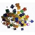 Confettis de table 85 multicolores Sachet de 14 gr