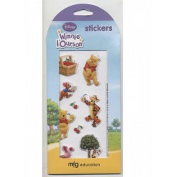 9-stickers-autocollants-winnie-l-ourson-en-relief-cerises-tigrou