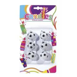 6-bougies-ballons-de-football-noires-et-blanches