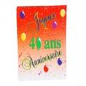 """Guirlande """"Joyeux anniversaire"""" pour vos 40 ans !!! 8 Pavillons"""
