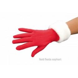gants-courts-adulte-polaire-rouges-manchettes-blanches-en-peluch