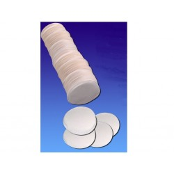 Confettis de scène en forme de ronds blancs 100 grammes