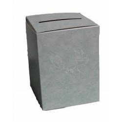 urne-vert-d-eau-avec-2-colombes-et-2-anneaux