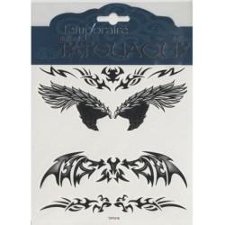 4-tatouages-d-ailes-stylisees-motif-tribal-ou-plumes