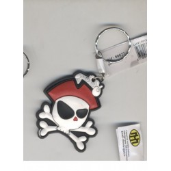 porte-cles-pirate-tete-de-pirate-avec-chapeau-rouge