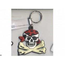 porte-cles-pirate-tete-de-pirate-avec-bandana-rouge-pois-noirs
