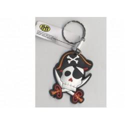 porte-cles-pirate-tete-de-pirate-avec-chapeau-bicorne-noir