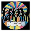 8 assiettes disco - Ø 22,8 cm Disco Dancers