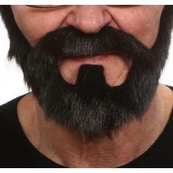 barbe-noire-en-collier-avec-mouche-et-moustache