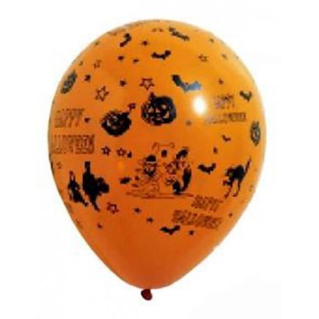 8-ballons-de-baudruche-orange-halloween-o-29cm