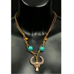 collier-indien-2-perles-en-bois-corde-et-tete-a-cornes