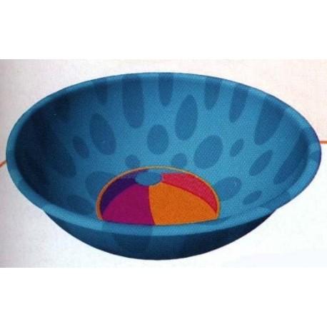 petit-bol-exotique-rond-bleu-avec-un-ballon