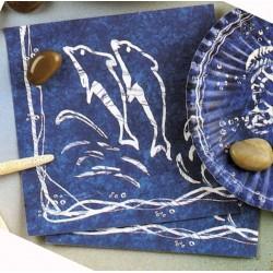 20-serviettes-de-la-mer-dauphin-blanc-sur-fond-bleu-33-x-33-cm-e
