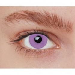 Lentilles de contact fantaisie iris violet uni