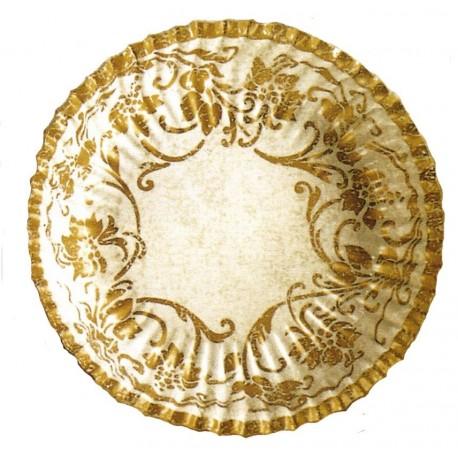 10-petites-coupelles-ivoire-decors-or-o-14-cm-mini-assiettes