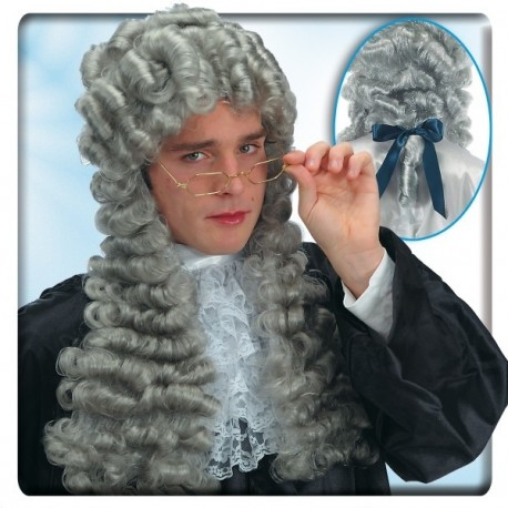 Perruque Louis XIV grise Juge 18 ème siècle