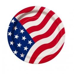 8-assiettes-drapeau-americain-o-178-cm-american-flag-usa