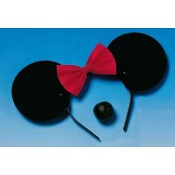 set-de-souris-fille-oreilles-et-nez-noirs-avec-noeud-rouge