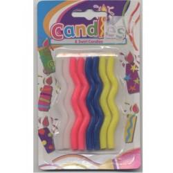 8-bougies-zigzag-4-couleurs-assorties