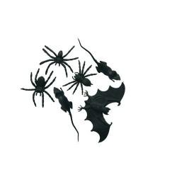 lot-de-bestioles-araignees-chauve-souris-et-petit-rat