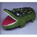 Pinata Alligator Crocodile à suspendre H 12 cm x L 48 cm environ