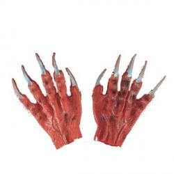mains-rouges-avec-griffes-argentees-doigts-de-monstre