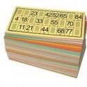 125 cartons loto vert Rigide Tradition LOTOQUINE