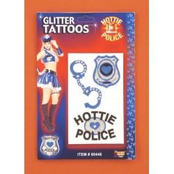 tatoo-hottie-police-paillettes-menottes-ecusson-pour-tissu