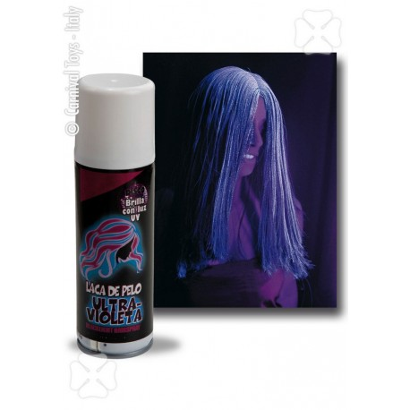 Bombe couleur cheveux fluo