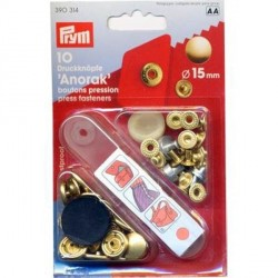 10-boutons-pression-anorak-laiton-calotte-laitonnee-or-15-mm
