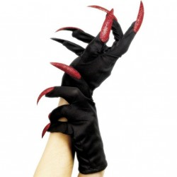 gants-noirs-courts-avec-ongles-longs-pailletes-rouges